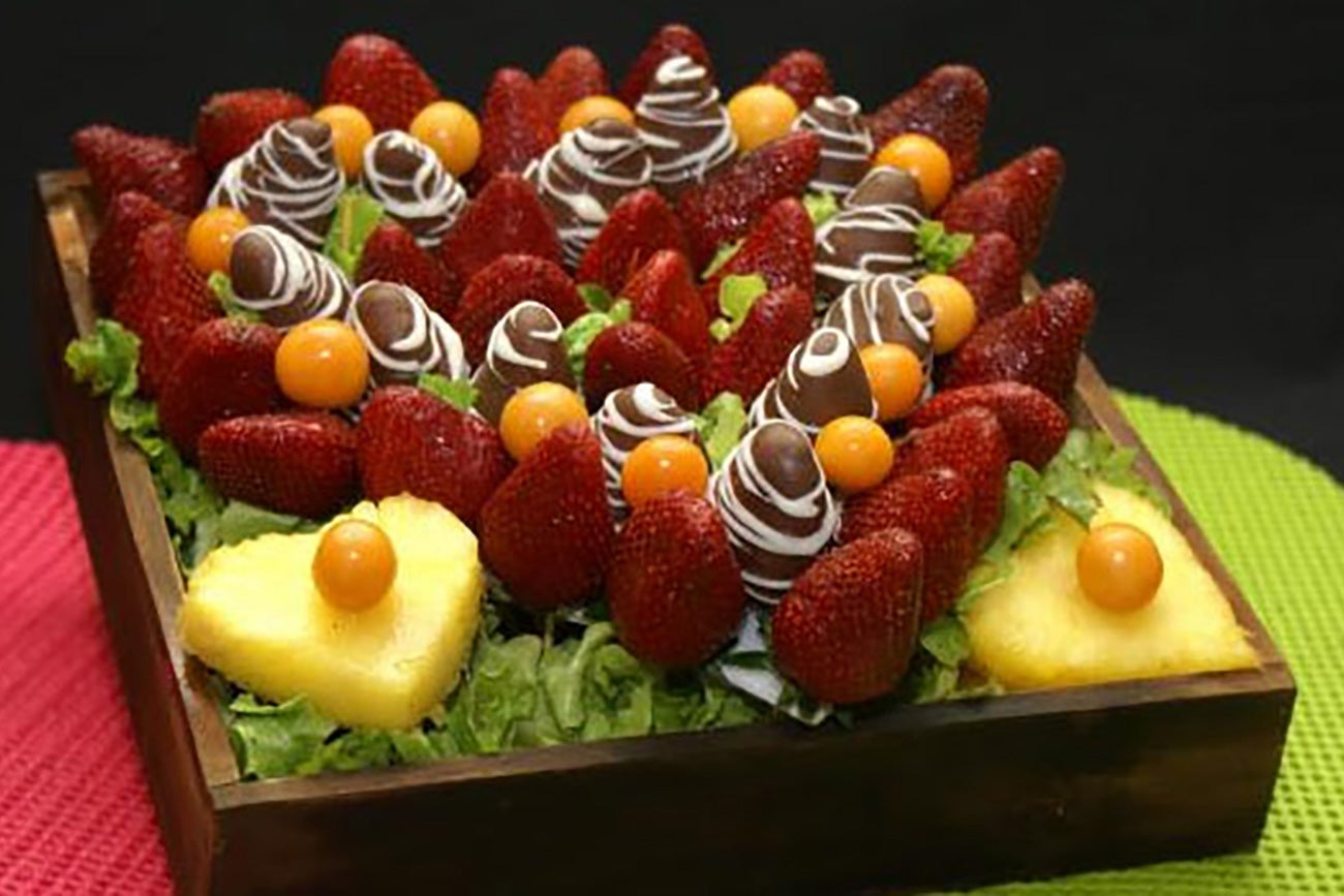 Arreglos frutales for Como secar frutas para decoracion