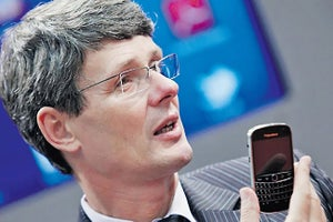 BlackBerry Takeover Bid Falls Apart, CEO to Depart