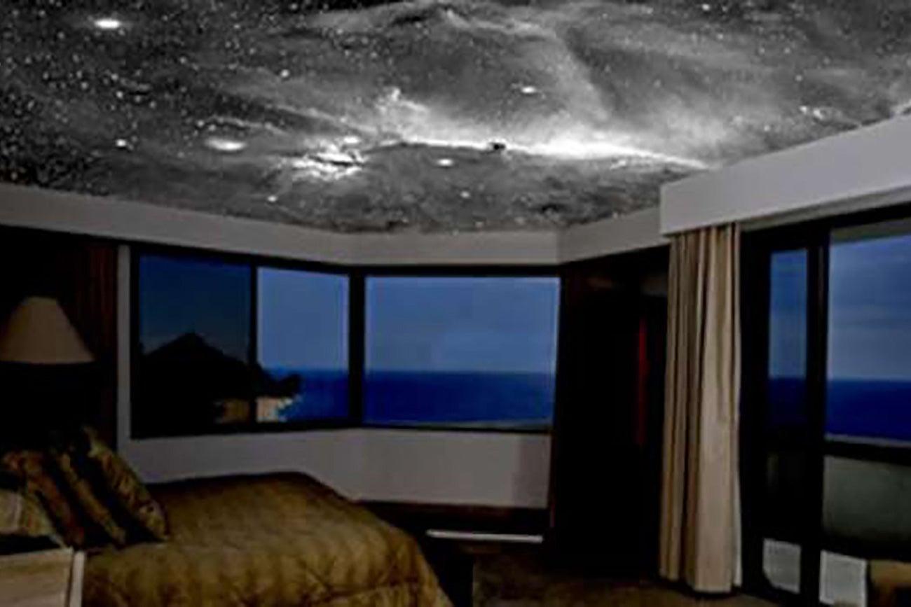 Decoraci n de cielo nocturno en techos for Decoracion de cielo