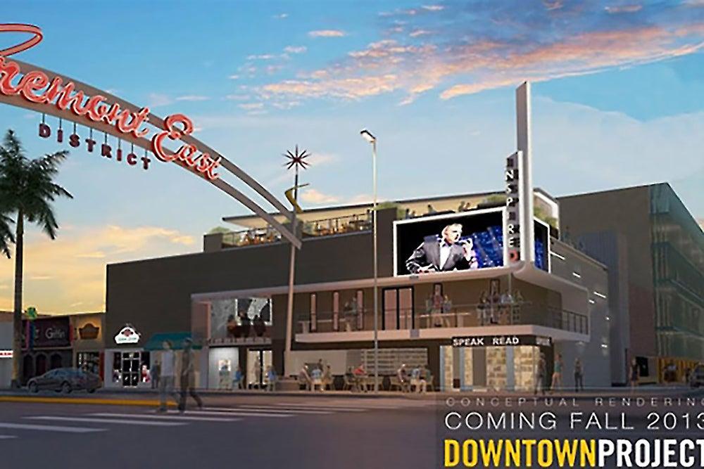 Downtown Las Vegas Reimagined as a Startup (Photos)