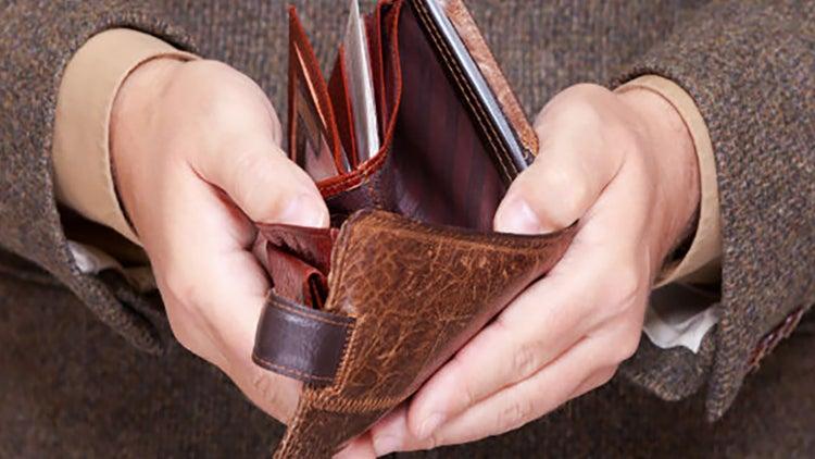 8 razones por las que no tienes dinero