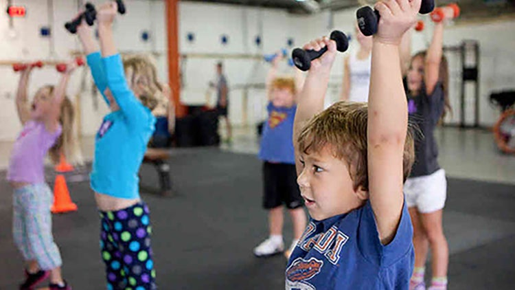 Gimnasio de CrossFit para preescolares