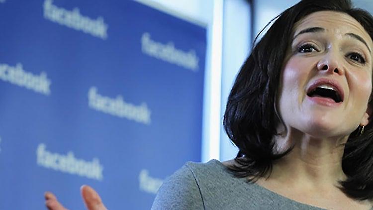Facebook's Sheryl Sandberg: Eliminate Bias That Women 'Aren't Meant to Lead'