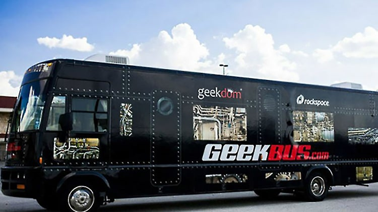 Geekbus Gives Future Entrepreneurs a Lift