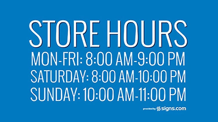 Get a Free Sign for Your Storefront -- And How to Give Away Stuff, Profitably