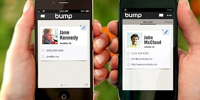 Google Buys Bump, a Popular File-Sharing App That Fought to Find its Groove