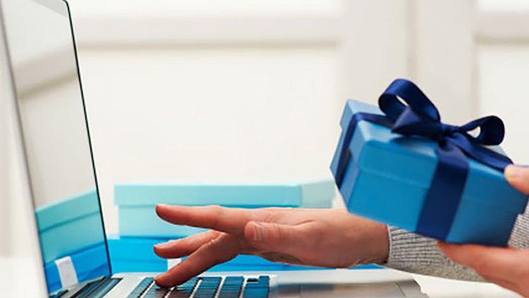 Mesa de regalos virtual