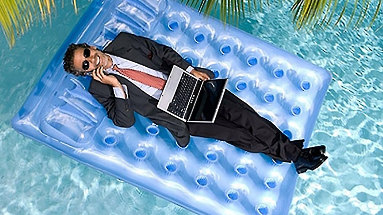 Most Americans Work While on Vacation, Report Finds