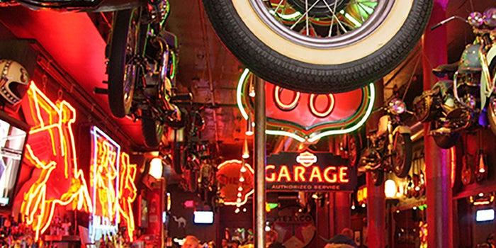 Restaurante-bar para motociclistas