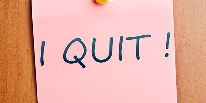 4 preguntas a contestar antes de renunciar