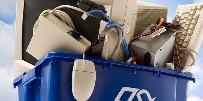 Reciclaje de residuos electrónicos
