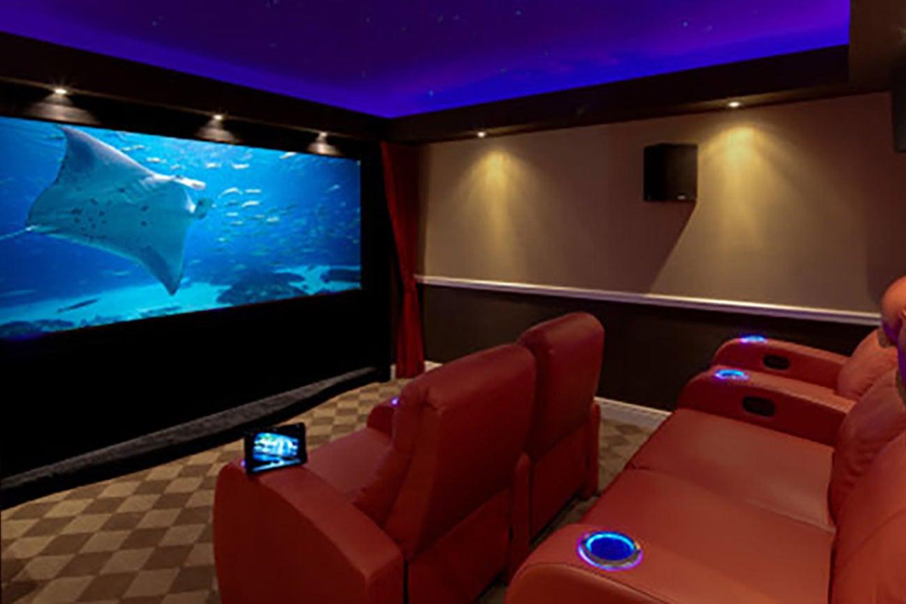 Salas de cine en casa - Sala de cine en casa ...