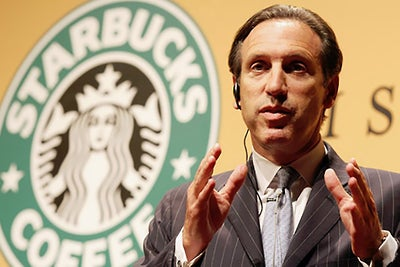 Starbucks CEO Howard Schultz Steps Down From Square's Board of Directo...