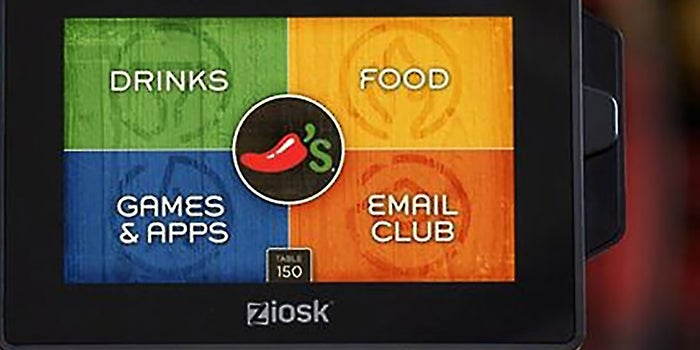 Tablets Soon to Become Tabletop Mainstays at Chili's