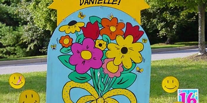 Tarjetas de felicitación para jardín