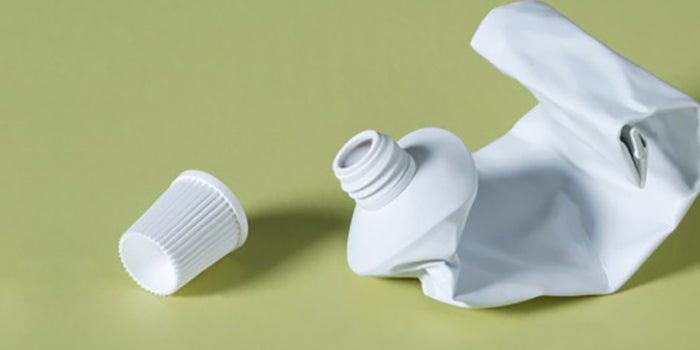 Techos de tubos de dentífrico