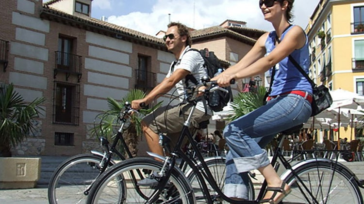 Turismo en ecobicicletas