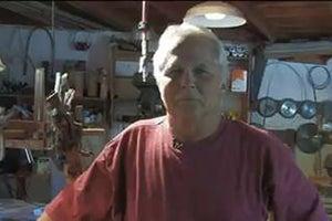 Tony Dow in his Topanga Canyon Studio