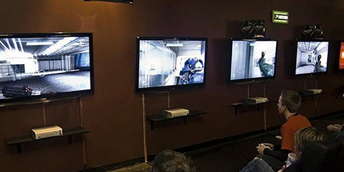 Centro de videojuegos en línea
