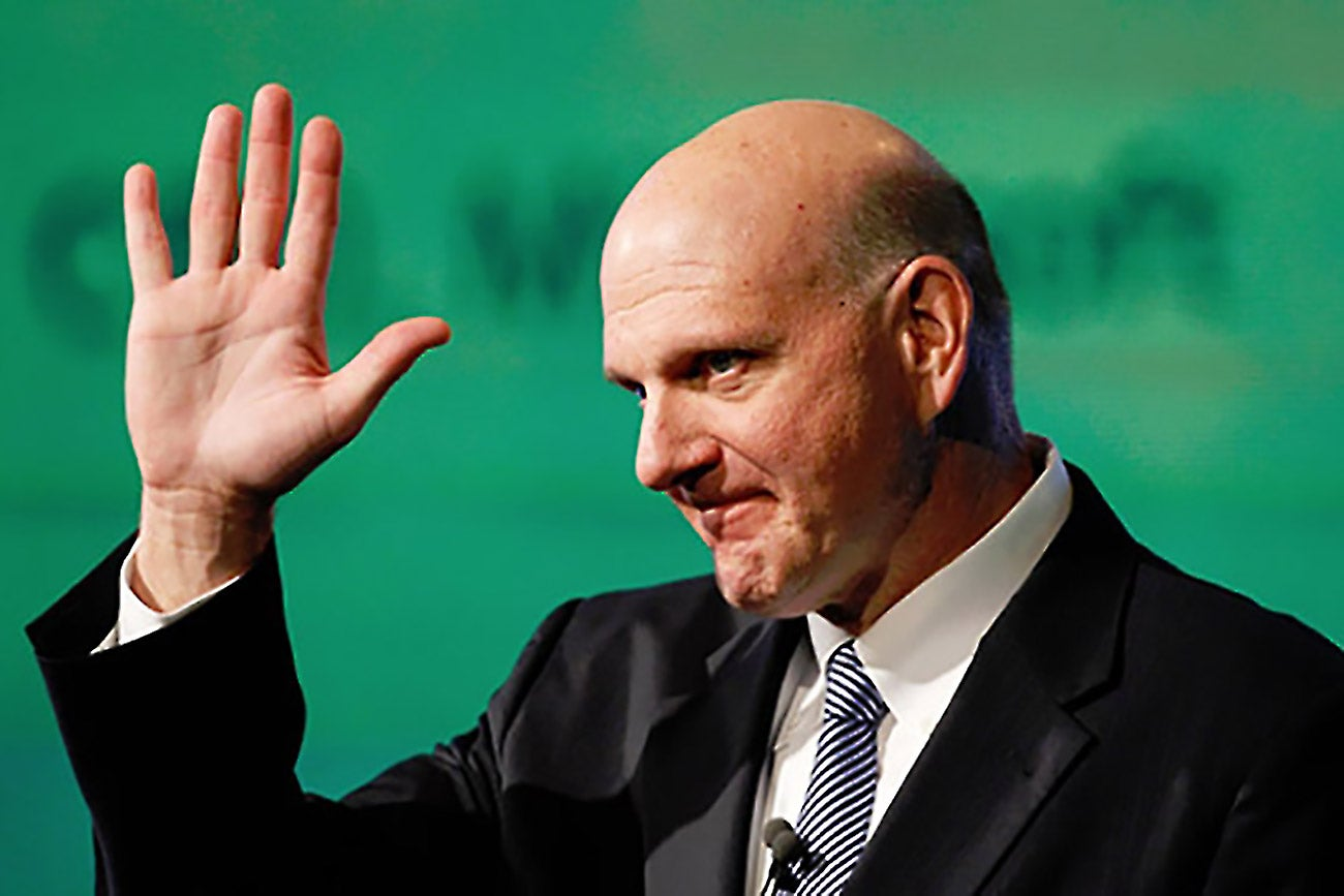steve ballmer leadership style Ex-microsoft ceo steve ballmer heckles stephen curry, fails when steve ballmer was ceo of it's odd how management styles might transfer.