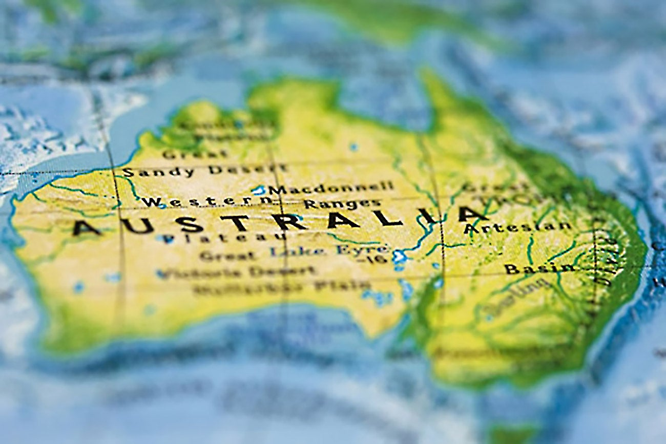 Why We Chose An Accelerator In Australia Over One In The US - Australia over us map