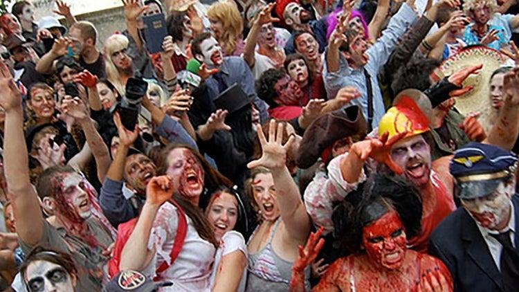 Fiestas zombi
