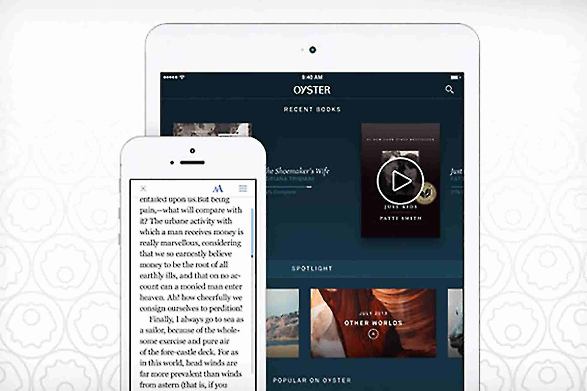 E-Reading Startup Oyster Raises $14 Million