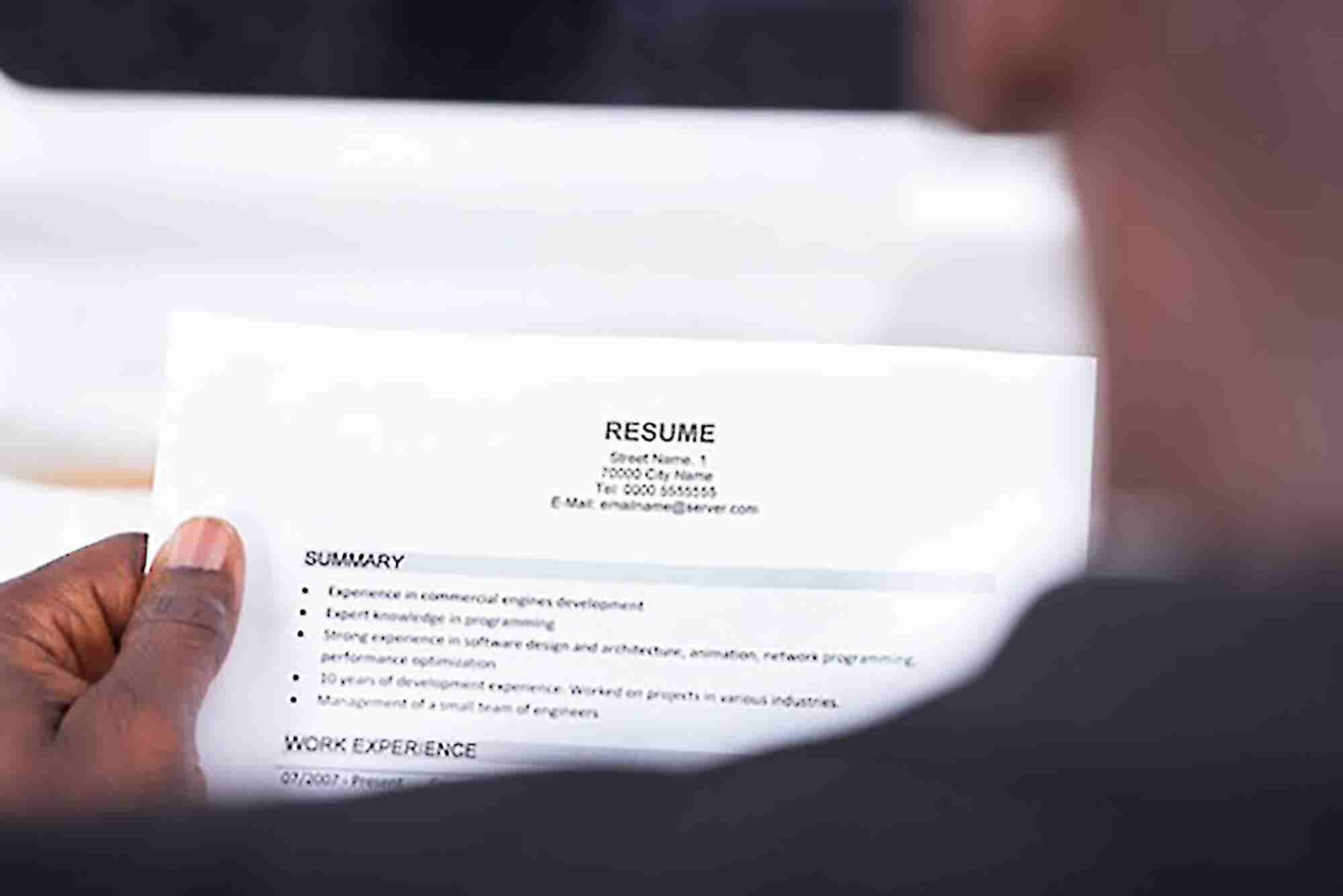 Getting Your Resume Right is an Art. #5 Must Dos for Every Job Aspirant