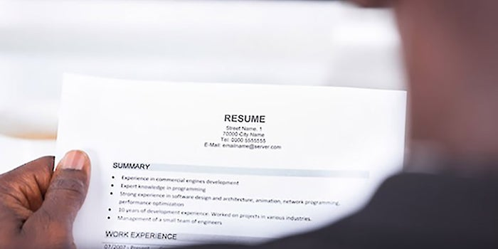 10 Quick Changes That Help Your Resume Get Noticed