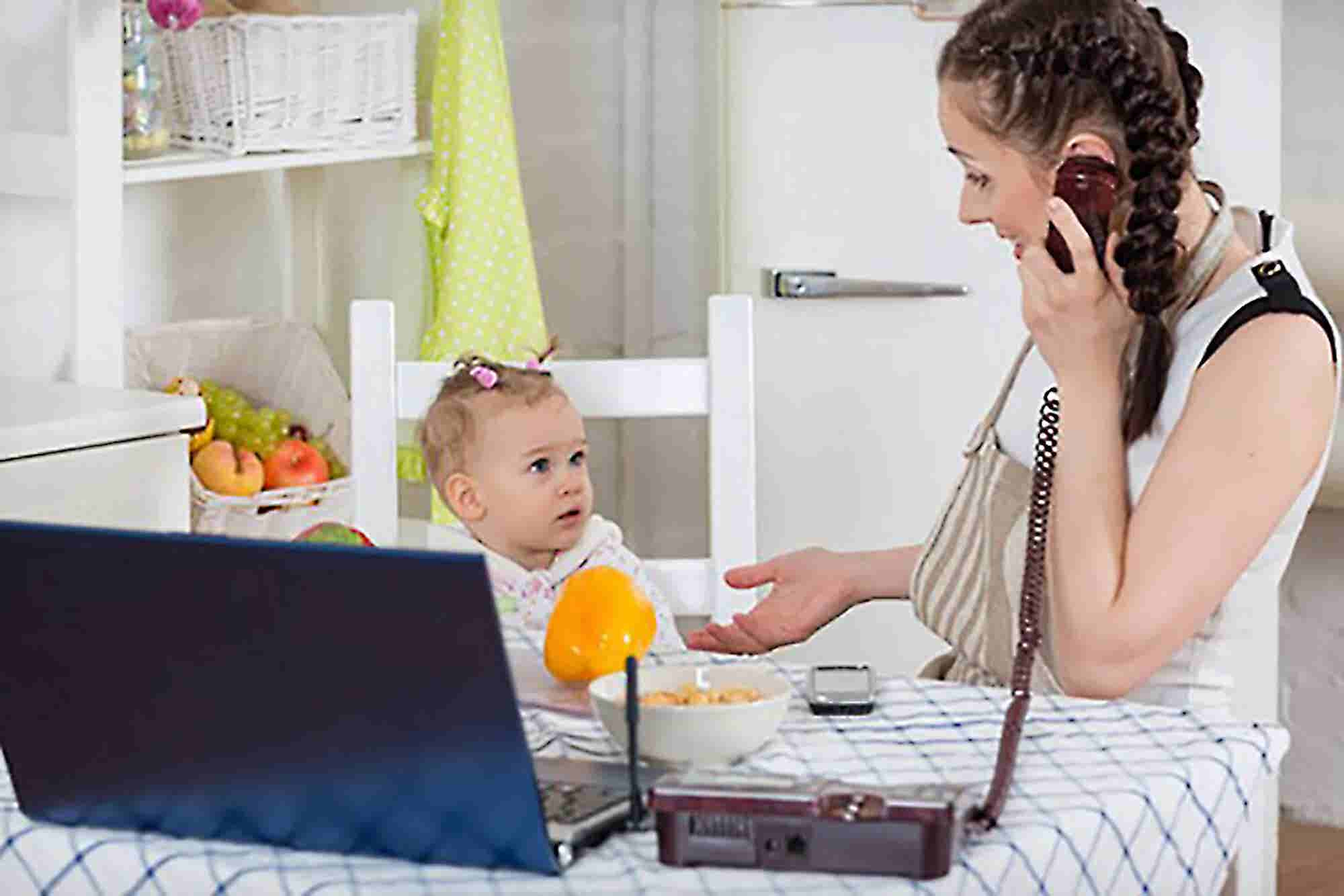 Have Young Kids? Here's How You Can Still Be Productive Working From Home.