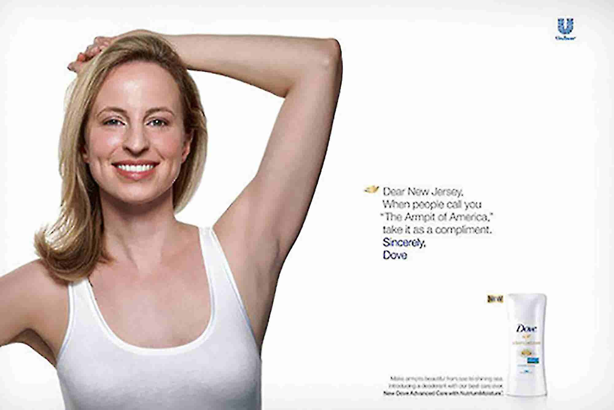 Dove Pulls NJ 'Armpit' Billboard in Wake of Criticism