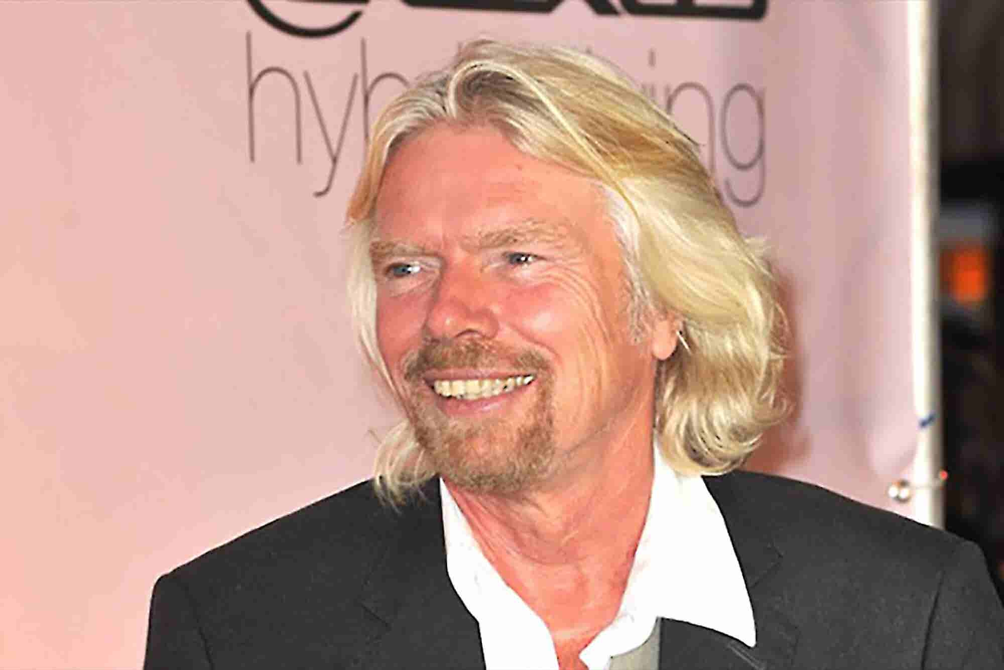 Richard Branson Shares Tips for a Healthy Lifestyle