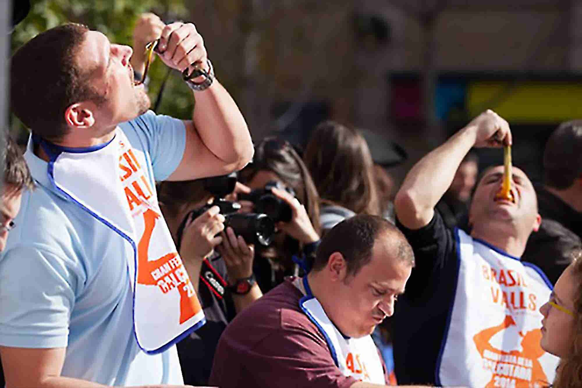 Keep It Down! 5 Business Lessons From a Competitive Eater.