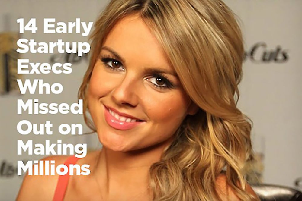 14 Early Startup Execs Who Missed Out on Making Millions