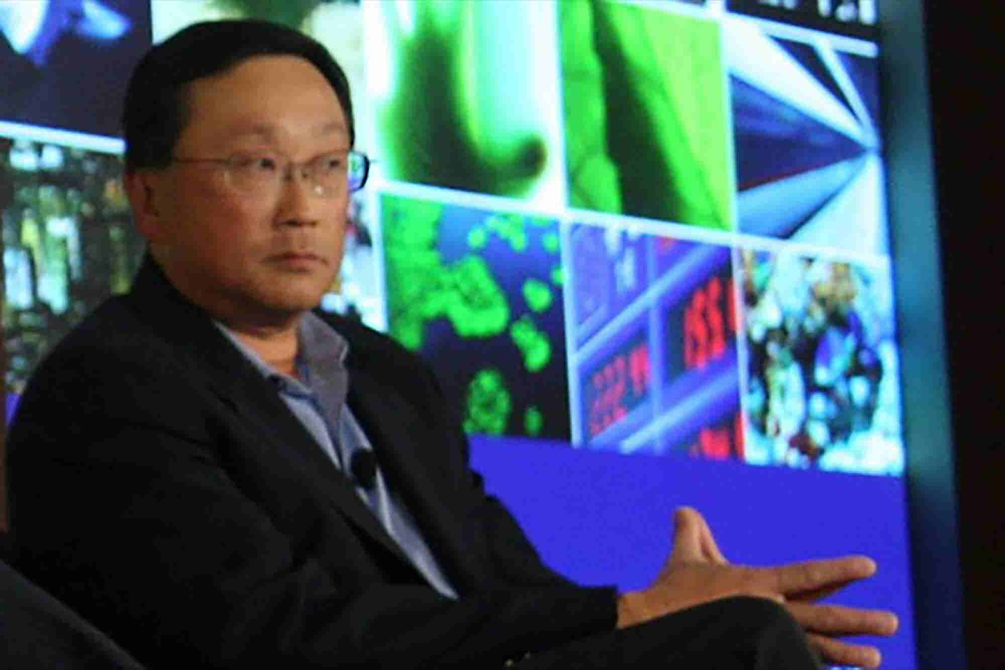 BlackBerry CEO Blasts Apple's Approach to Security
