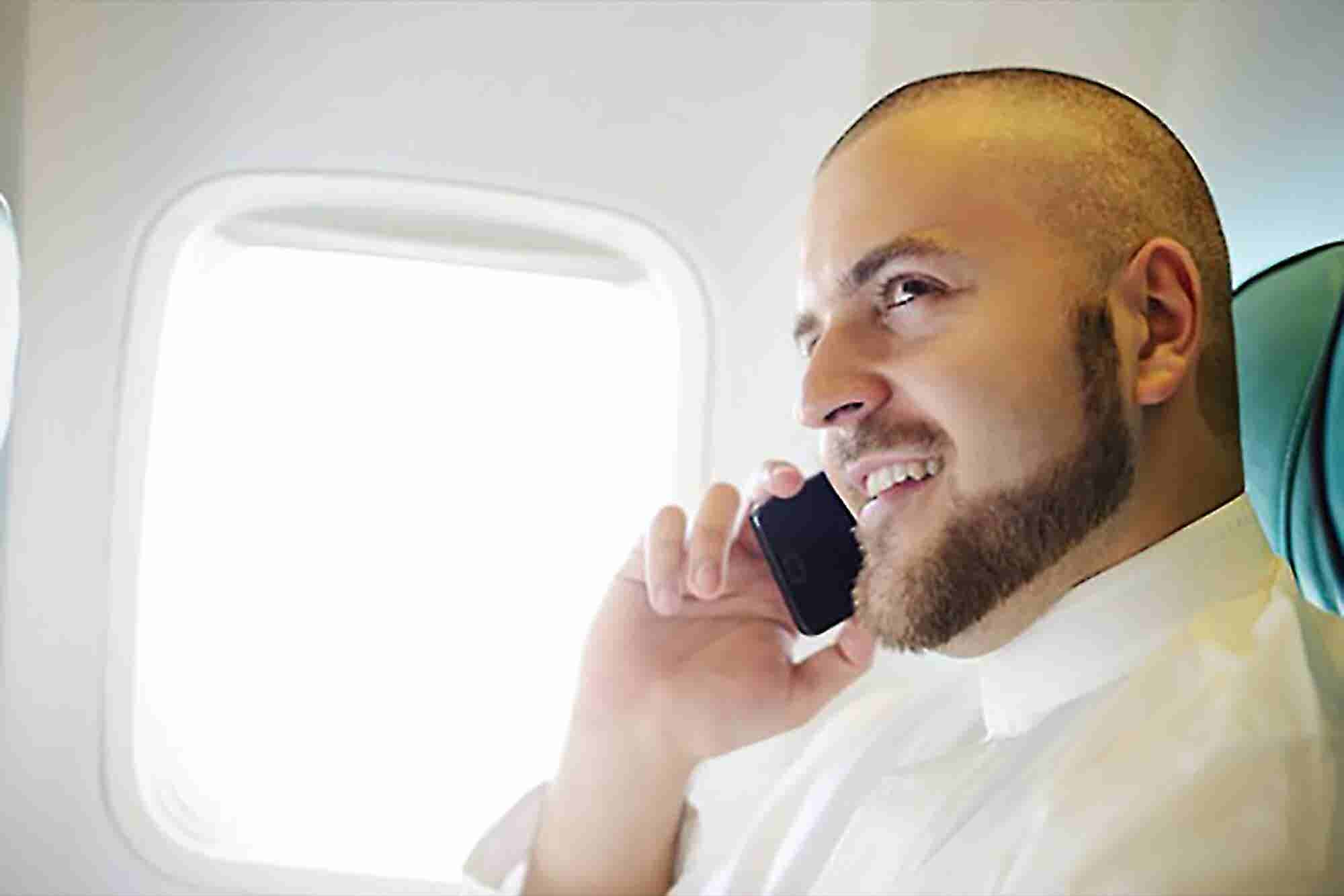 The Feds Don't Want In-Flight Cell Phone Calls, Either