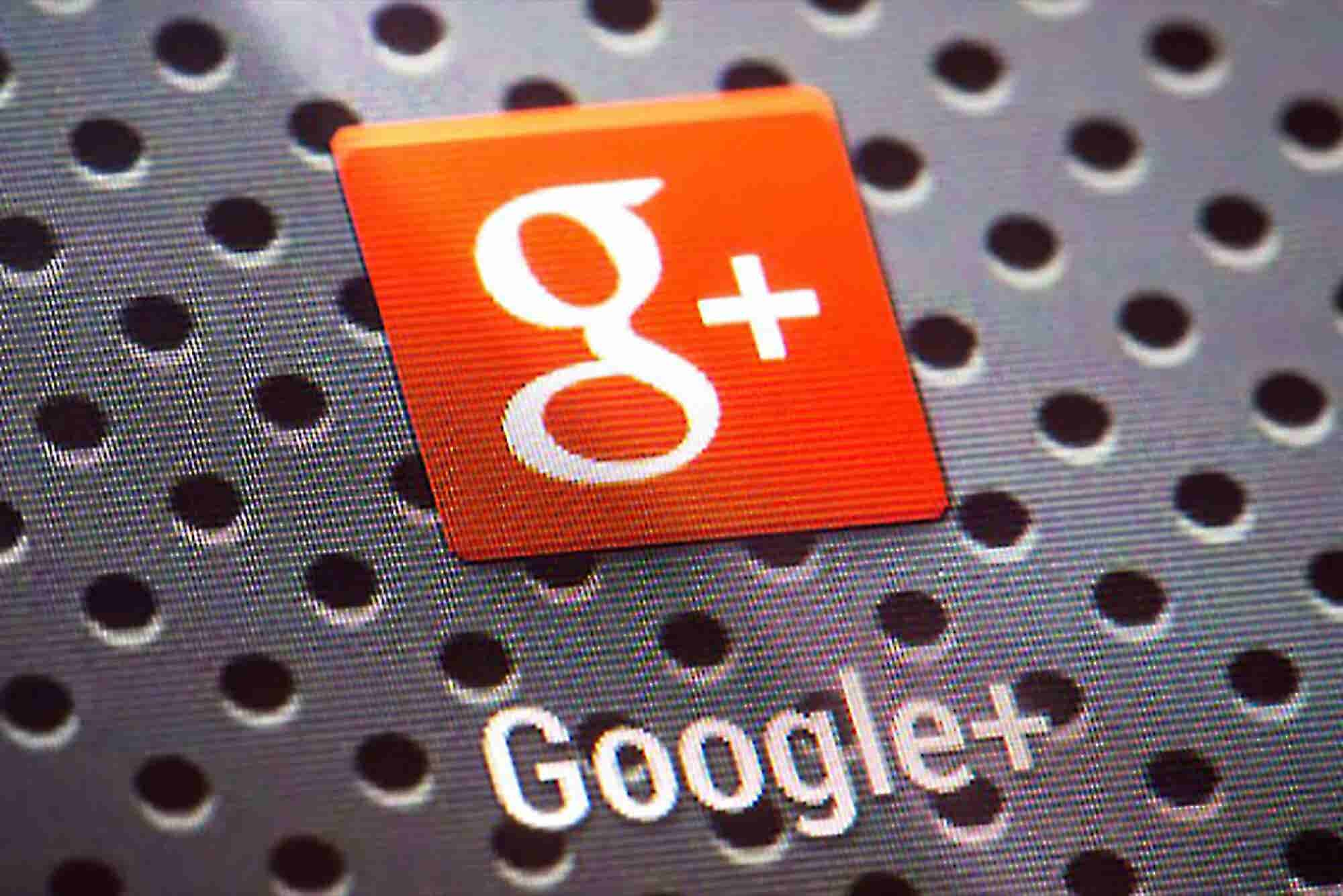 Google Reorganizes Google+ Social Network