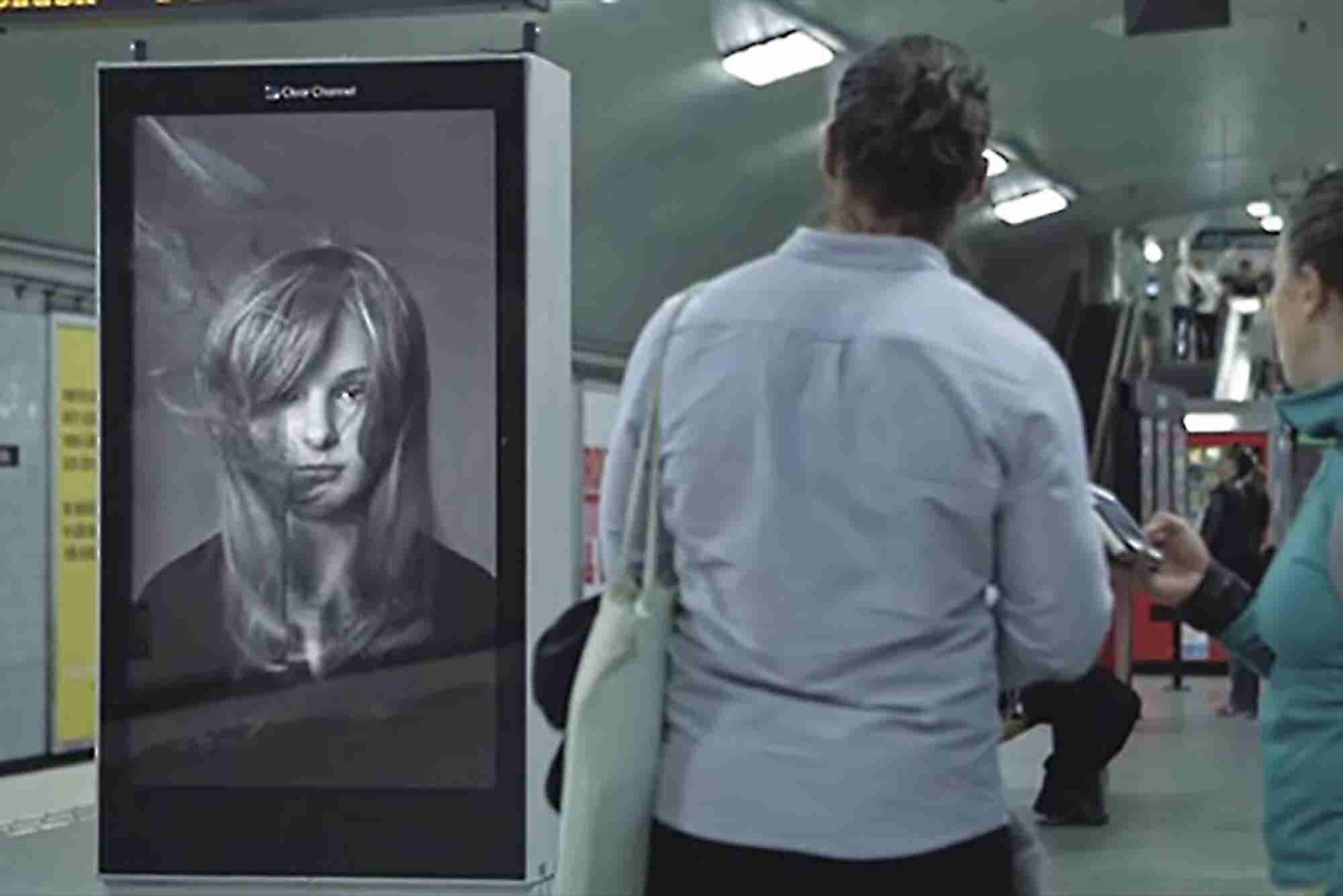 How These Brilliant Digital Billboards Are Delivering a Hair-Raising Message