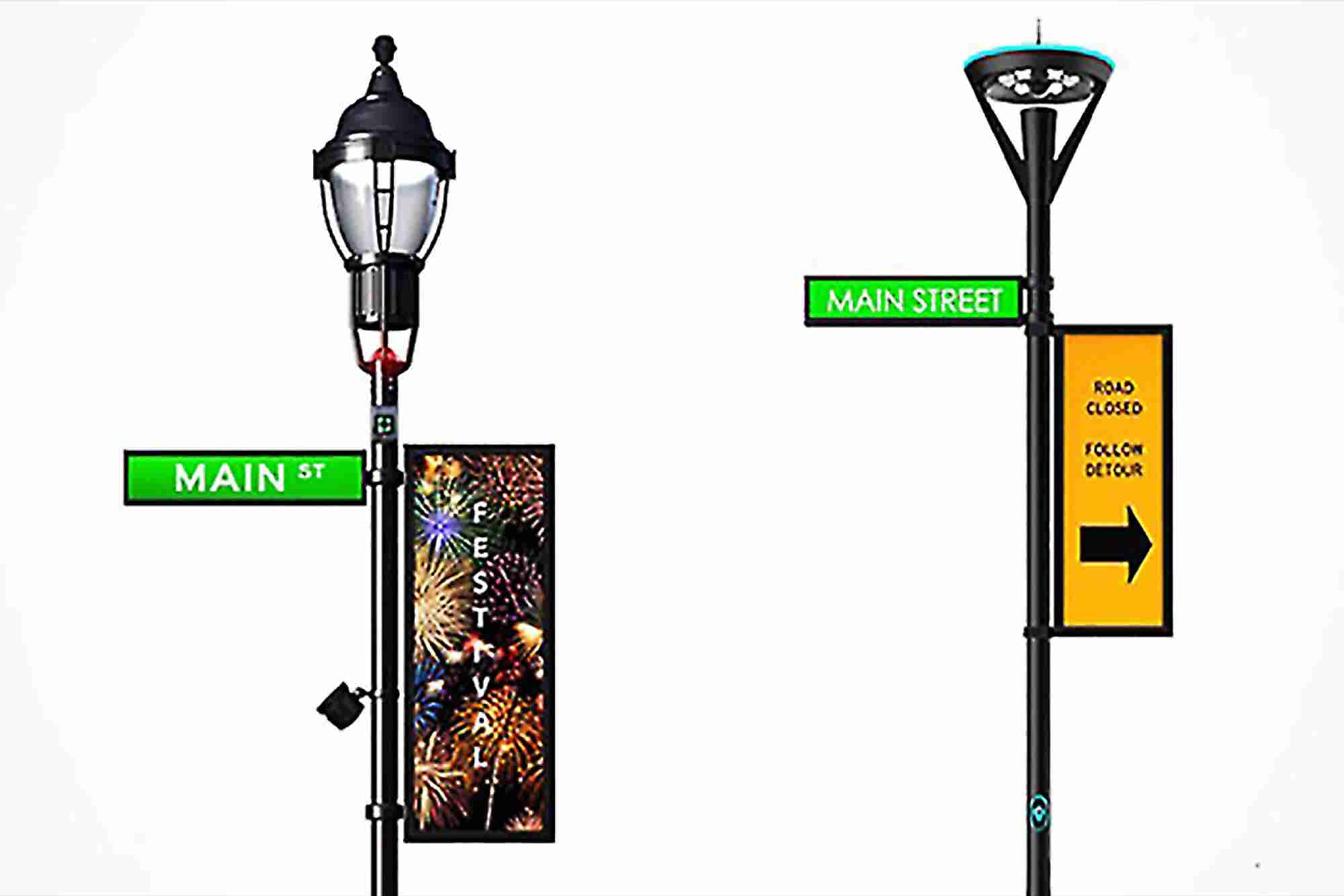 Talking Lamp Posts Are Just the Beginning in Verizon's Vision of a Smart City