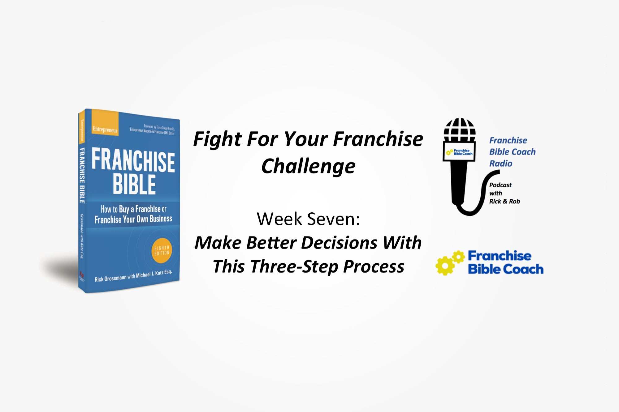 , Fight for Your Franchise Challenge, Week 7: Make Better Decisions With the Three Decision Lens Strategy, Saubio Making Wealth