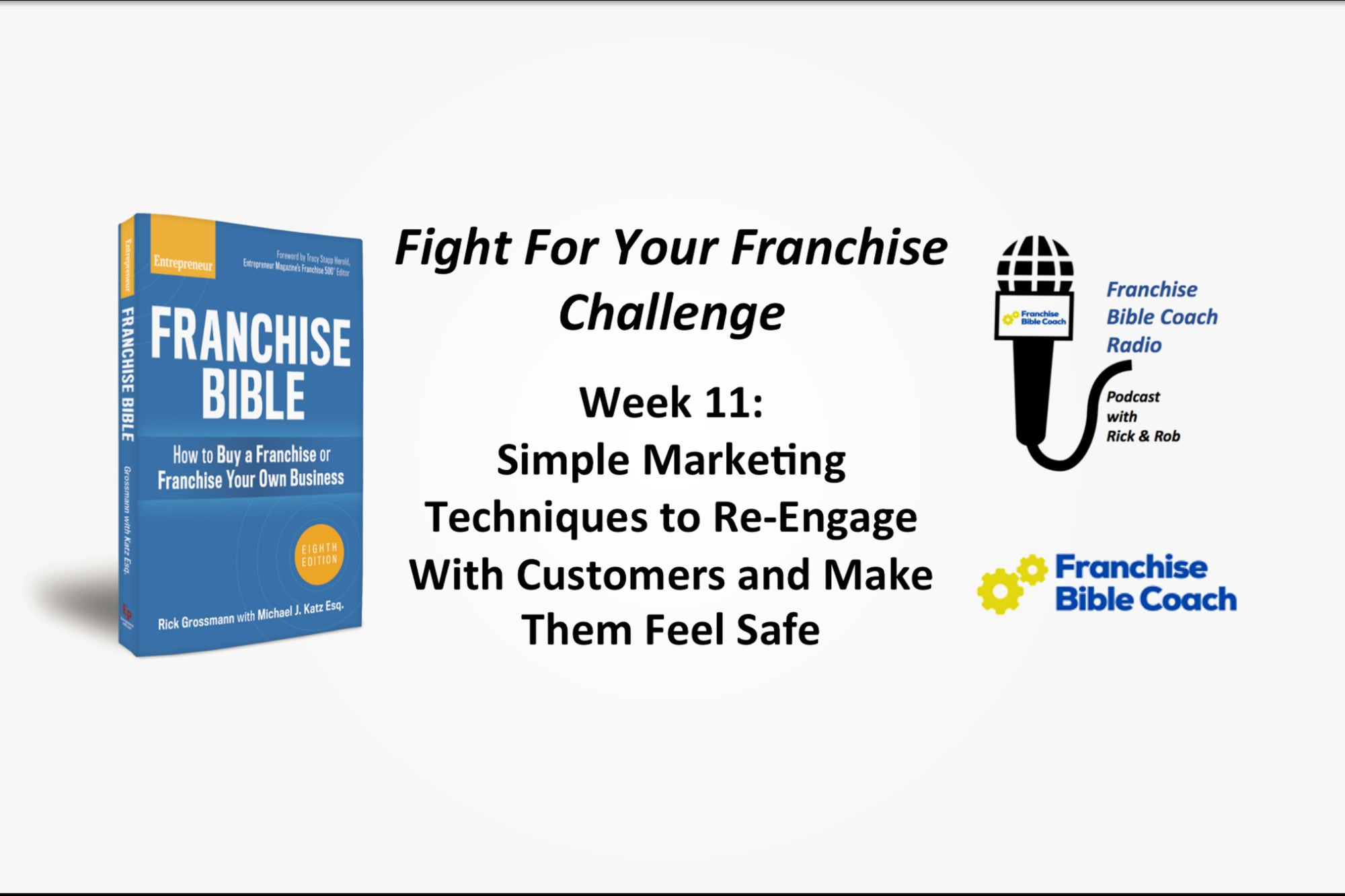 , Fight for Your Franchise Challenge, Week 11: Simple Marketing Techniques to Re-Engage With Customers and Make Them Feel Safe, Saubio Making Wealth