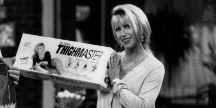 Suzanne Somers Shares How ThighMaster Squeezed the At-Home Workout Industry
