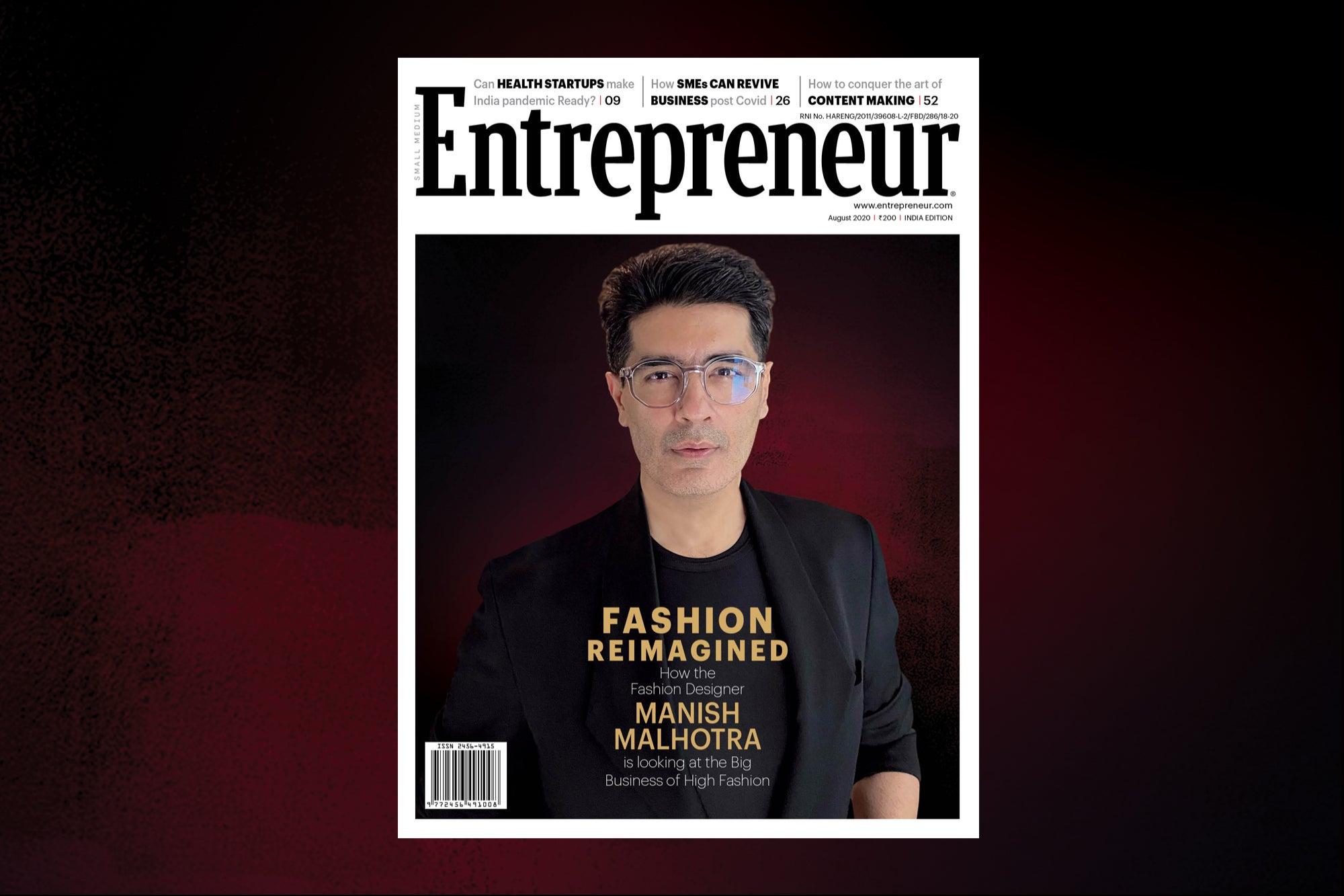 The Man Of Couture Inside Manish Malhotra S World