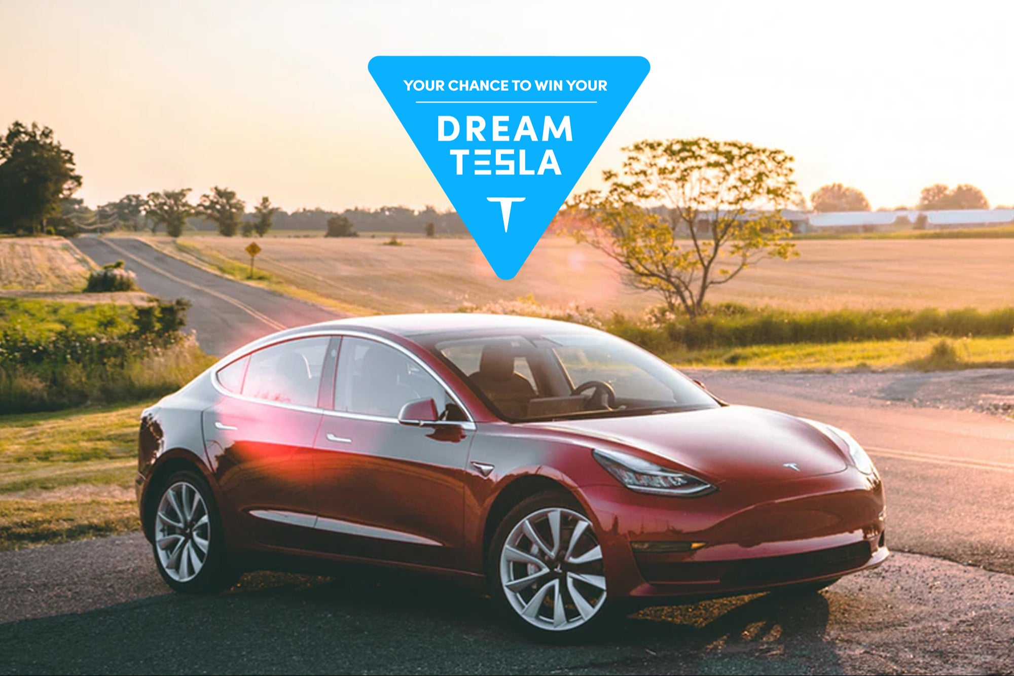 Here's How You Could Win a 2020 Tesla Model 3 For Free