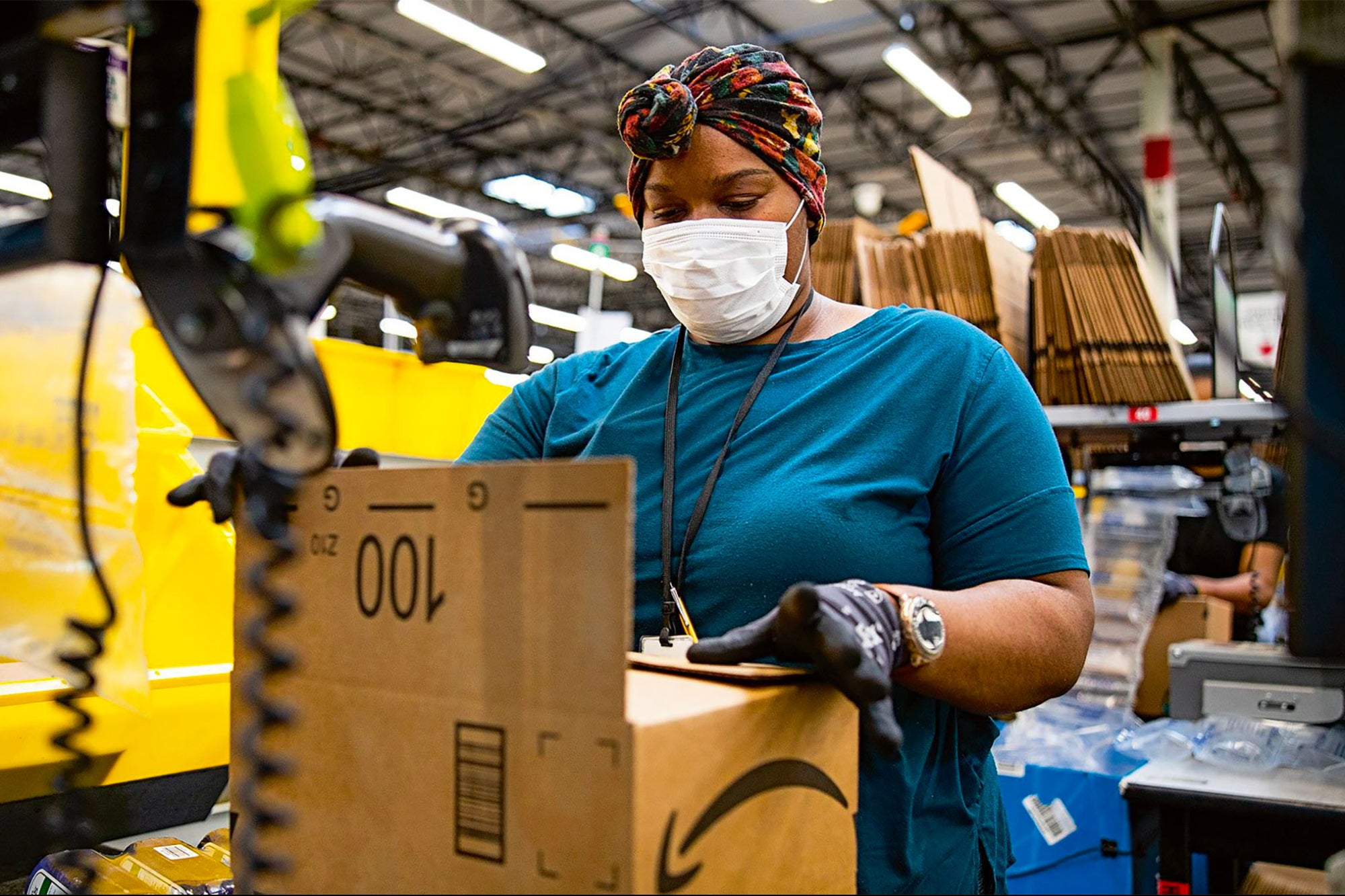 Amazon: Nearly 20,000 Employees Caught Covid-19 Out of 1.3 Million Workforce