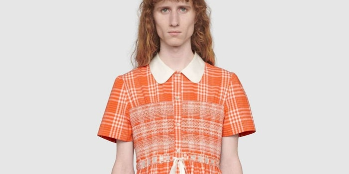 Gucci launches a men's dress for almost 56 thousand pesos