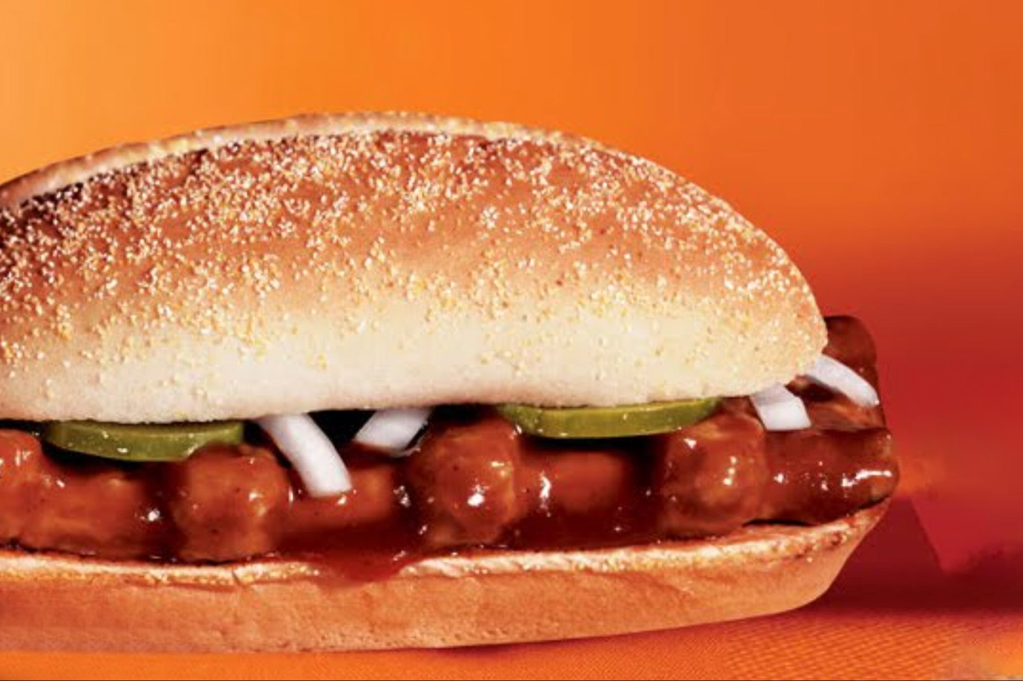 The McDonald's McRib Sandwich Is Coming (Baby) Back In A Big Way
