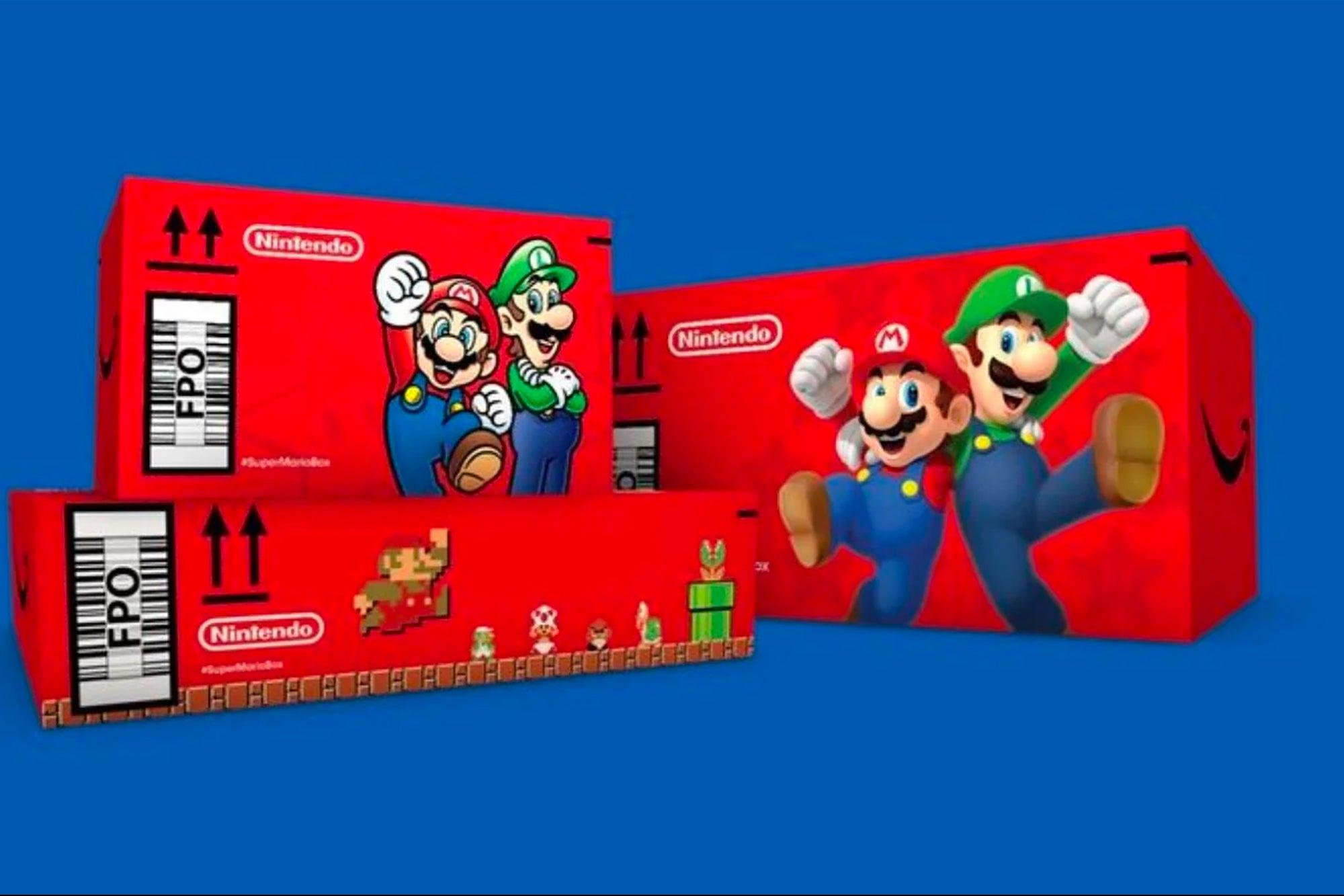 , Amazon Is Randomly Shipping Boxes in Mario-Themed Boxes, Saubio Making Wealth