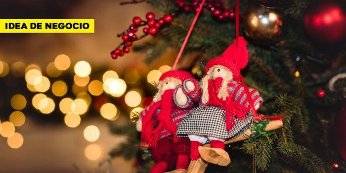 ¿Y si abres un negocio de medio tiempo de renta de decoración navideña?