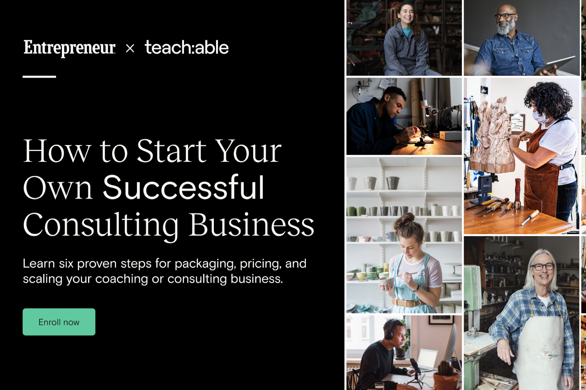 Free Webinar | Dec. 16: Learn the 5 Key Steps to Launching a Coaching or Consulting Business